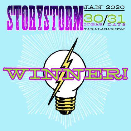 Storystorm 2020 Winner